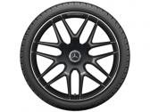 "AMG 7 double spoke 22"" black"